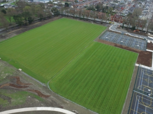 Garry Flood Landscapes - winner Sportsgrounds Construction & Maintenance