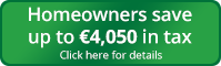 Save up to €4,050 in tax button